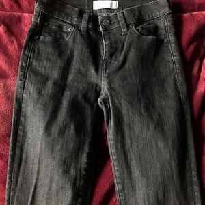 Black denim jeans by Madewell